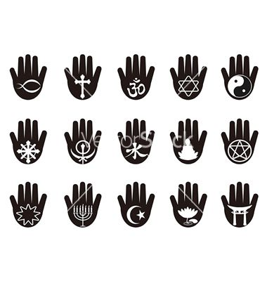 hindu hamas hand tattoos | Hindu Hand Symbol Hand with ...