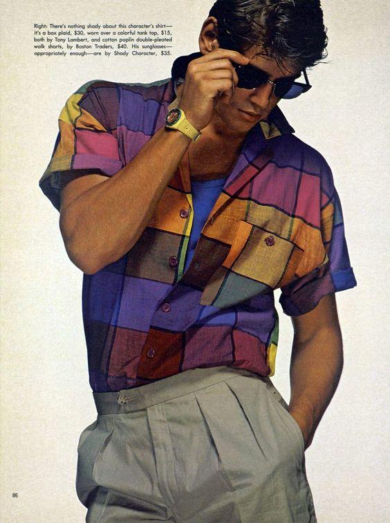 80s Retro Clothing Men