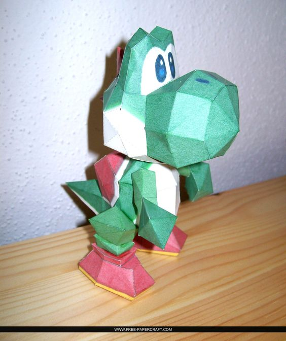 64 Piano Super Mario Papercraft