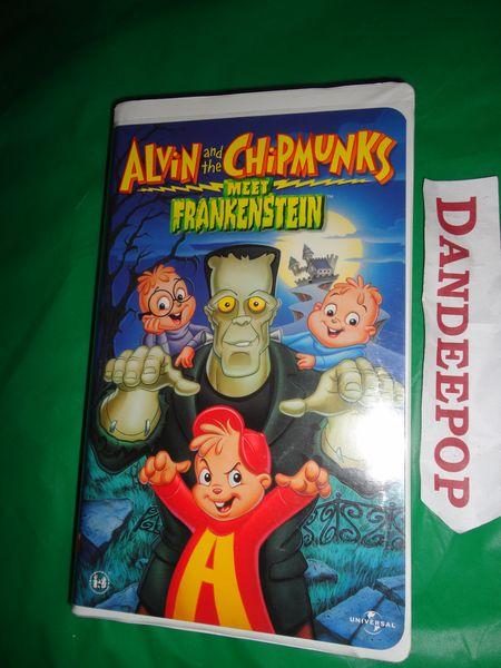 Dracula Chipmunks Vhs And Meet Alvin