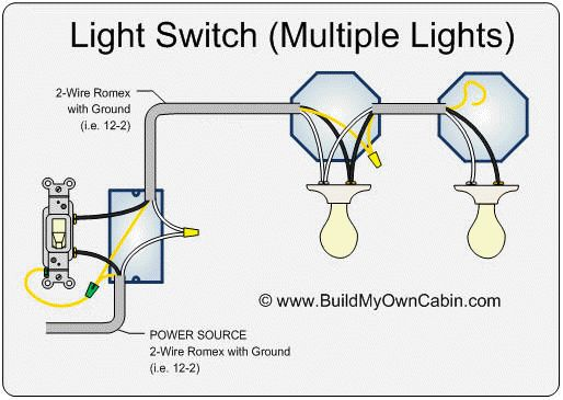 Four Bulb Fluorescent Wiring Diagram