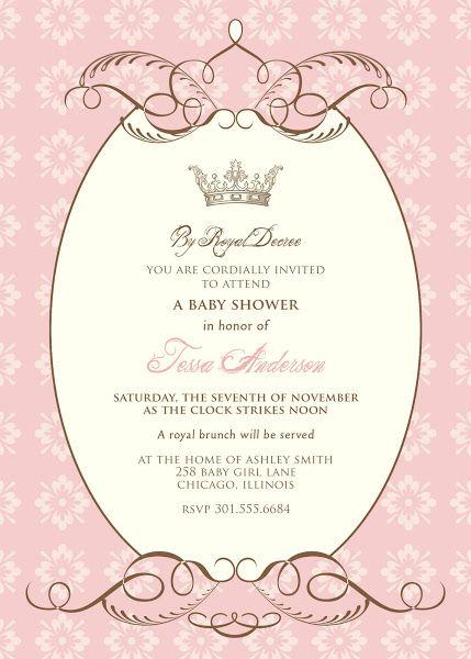 Sample Baptismal Invitation Layout