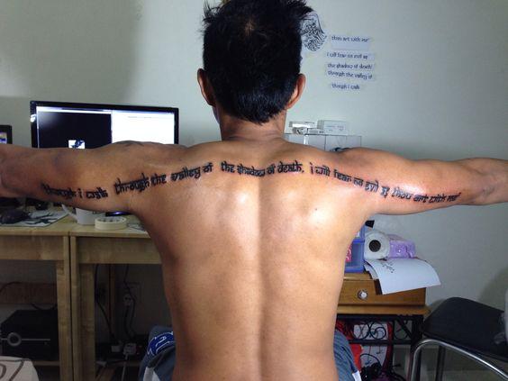 Valley Shadow Tattoo Death Walk Through