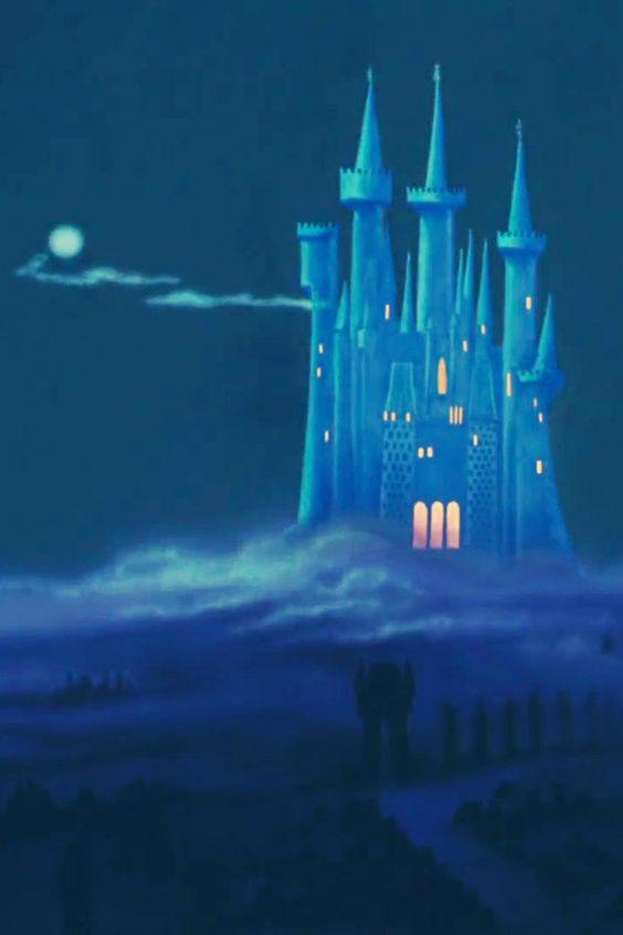 What Color Cinderellas Castle Disney World