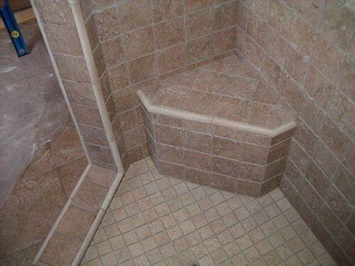 Retrofitting Shower For Shower Bench Diy