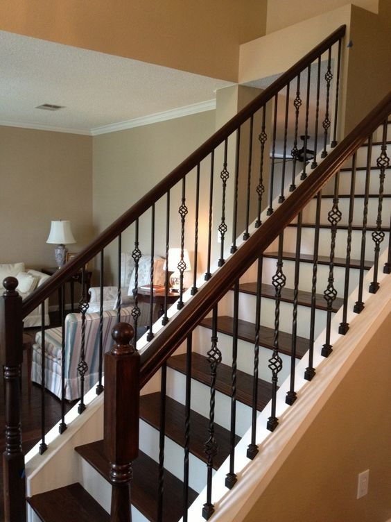 Wrought Iron Spindles Google Search For The Home | Stair Banisters For Sale