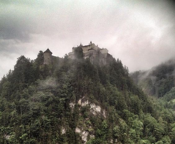 Hohenwerfen Where Schloss Eagles Castle Dare