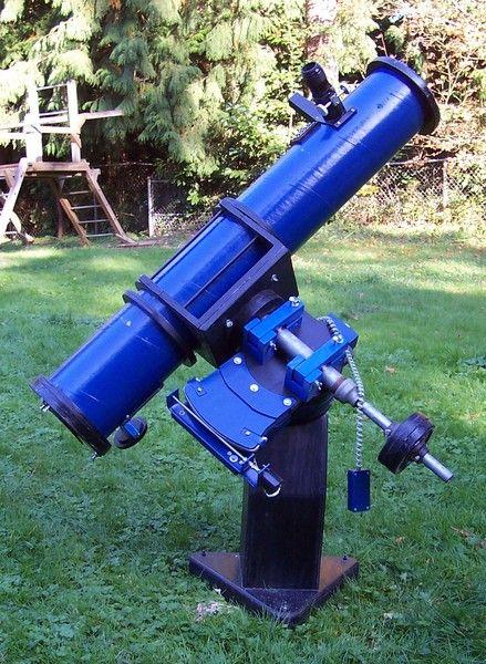 Homemade Radio Plans Telescope