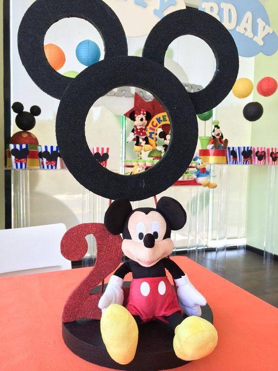 Hacer Un Centro Como Mouse De Minnie Mesa De