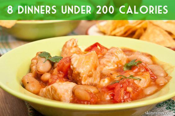 Dinner Under 200 Calories