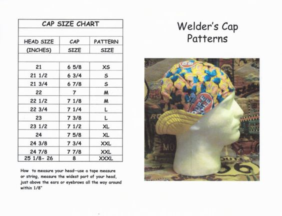 5 panel hat printable pattern