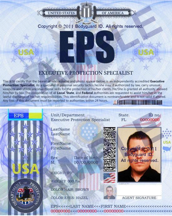 Executive Security Specialist