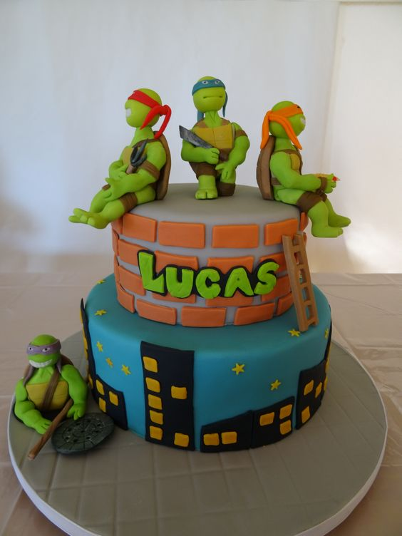 Turtle Cake Childrens Birthday
