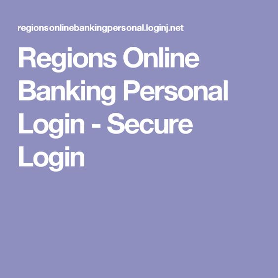 Regions Personal Banking Banking Solutions