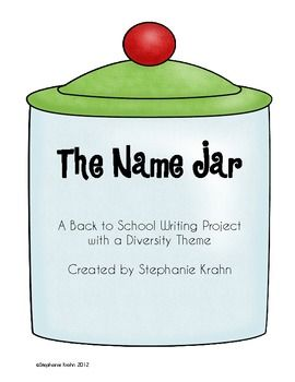 The Name Jar book activity | Friendship, Activities and Other