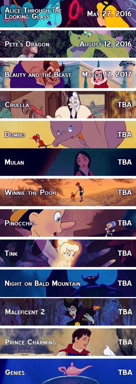 Upcoming Disney Live Action Films   Disney, Where Dreams ...