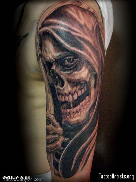 Free Grim Reaper Tattoo Designs