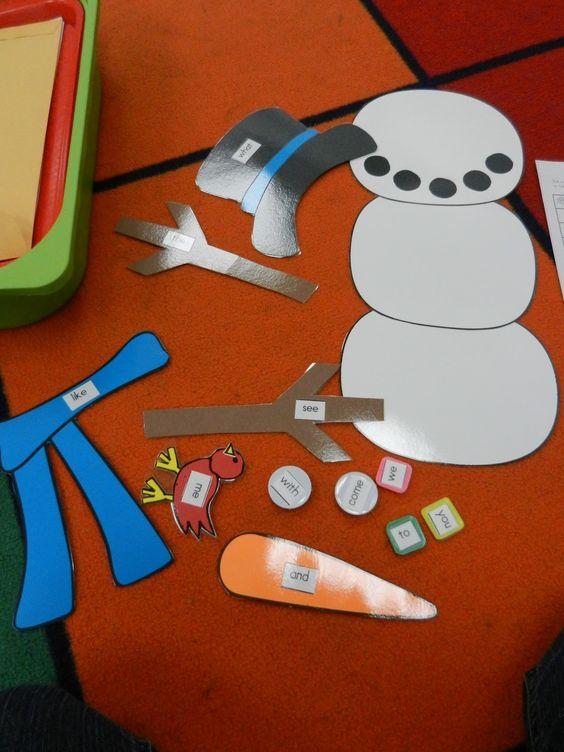 Snowman Writing 1st Grade
