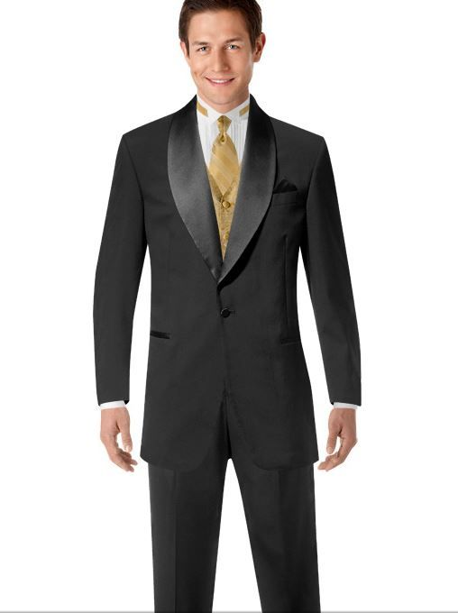 Champagne Ivory And Black Tux