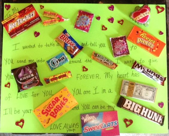 Candy Bar Sayings Veterans