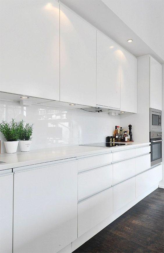 All White Ikea Kitchen