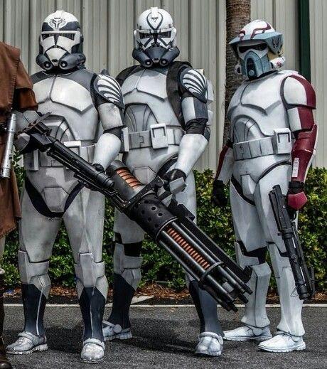Star Wars Wars Wallpaper Pack Wolf Clone