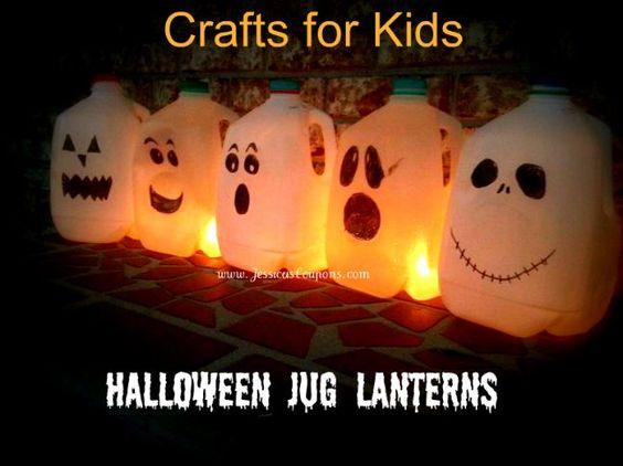 Milk Pumpkin Lights Jug
