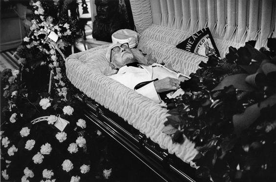 Redd Foxx Funeral Casket