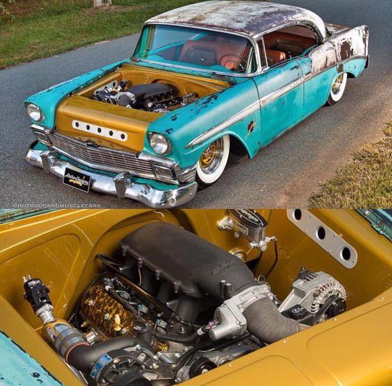Chevy Air Rod Rat 55 Bel