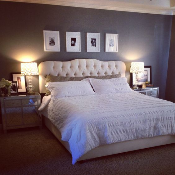Master Bedroom Makeover Joss And Main Bed And Headboard