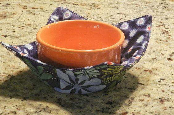 Sew Microwave Bowl Holders