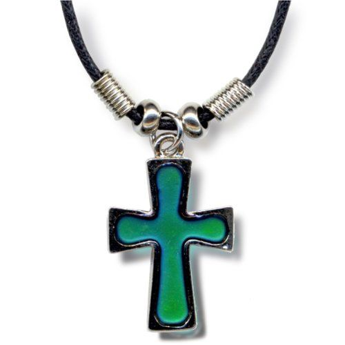 Are Mood Cross Necklace Colors What