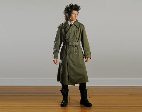 Korean Trench Coats War
