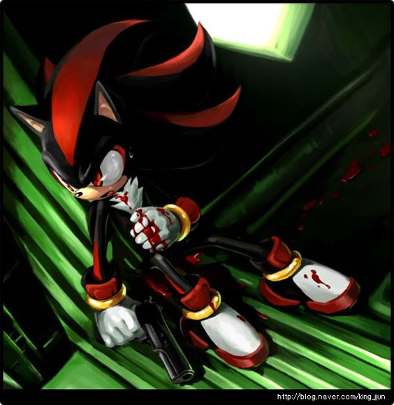 Kills Shadow Sonic Gun