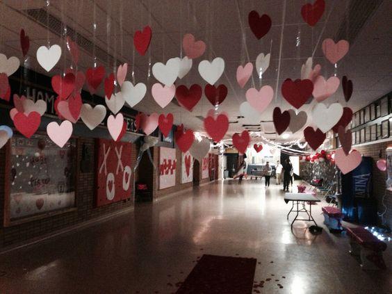 School Valentine Dance Decoration Ideas