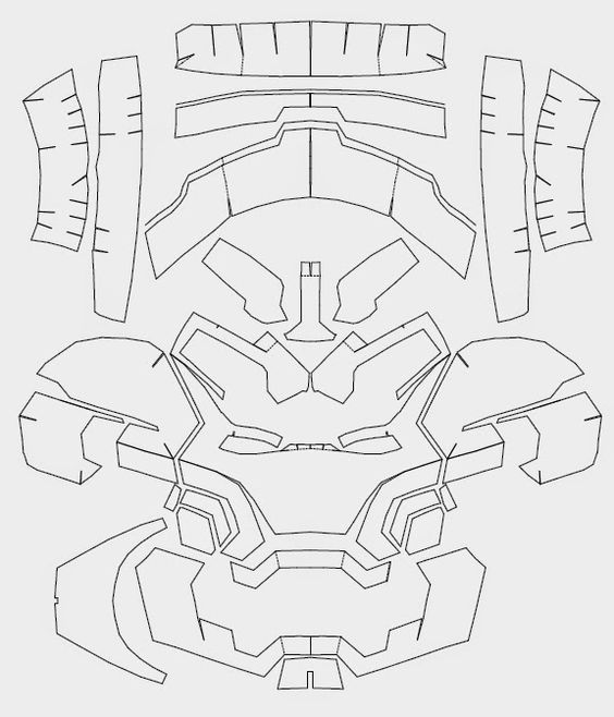 Master Chief Armor Templates