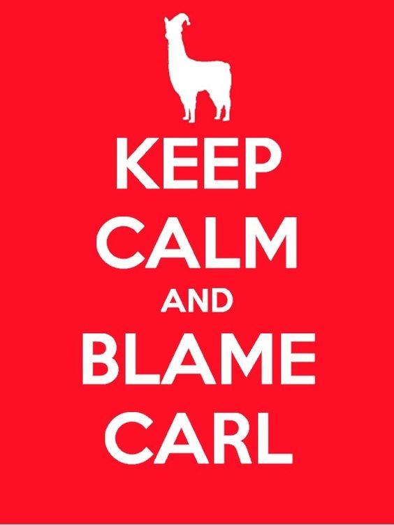 Llama Carl Meme