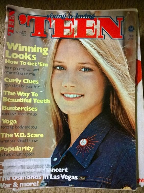 Tiger Beat Covers 1970s