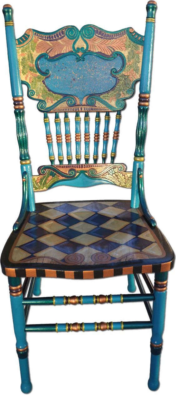 Whimsical Painted Furniture