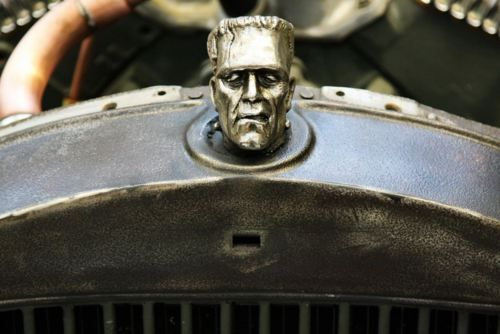 Frankenstein Hood Ornament | Hood Ornaments | Pinterest ...