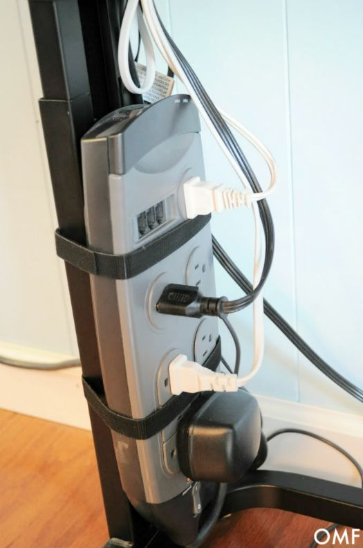 Electrical Cords Under Furniture