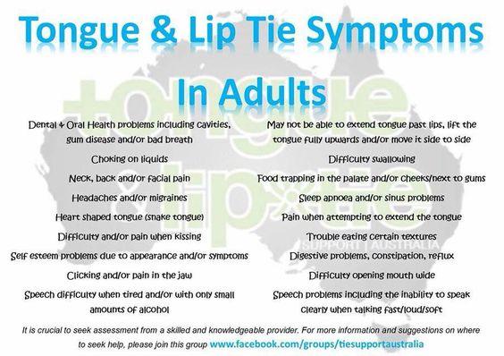 Tie And Posterior Tongue Tie Lip
