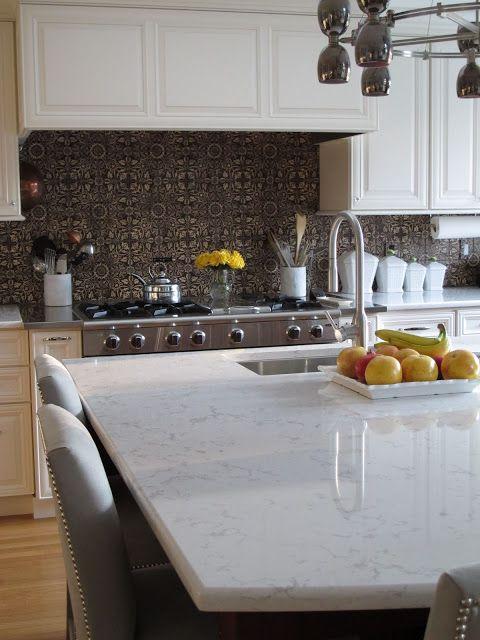 Like The Beveled Edge Hanstone Quartz For Kitchen