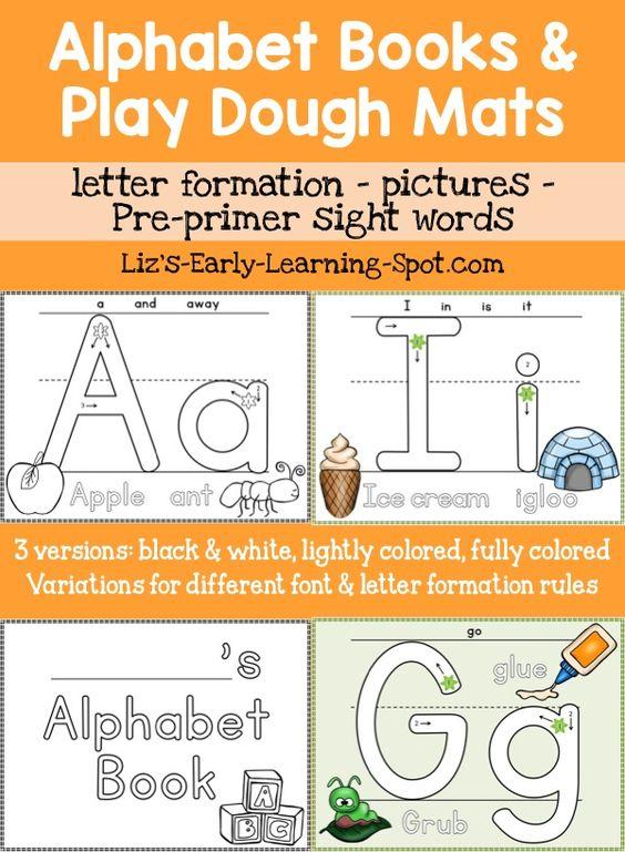 Alphabet Sight Word Books