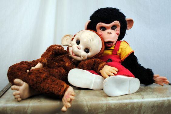 Zippy Monkeys Vintage Toy
