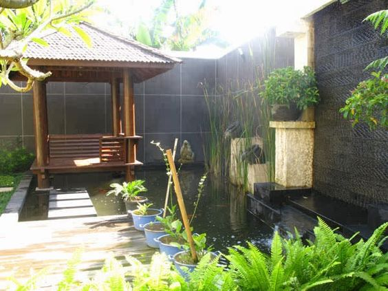 Small Patio Pond Ideas