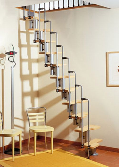 Retractable Spiral Staircase