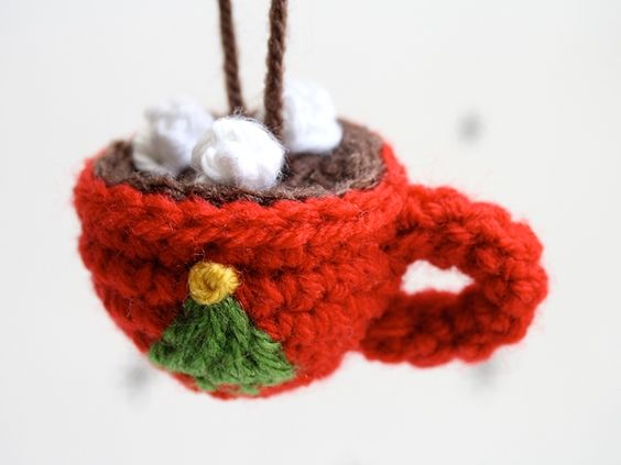 Christmas Tree Ornament Pattern Knitted Hat