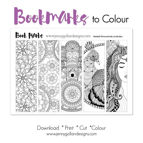 Printable Crochet Cross Bookmark Pattern