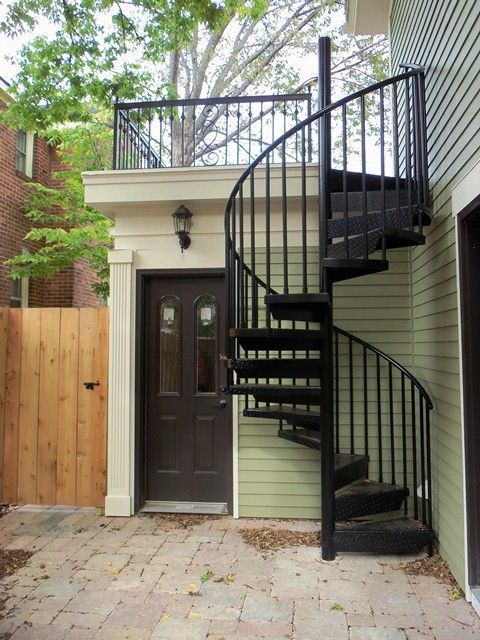 Decks Entrance And Craft Rooms On Pinterest   Spiral Staircase Outdoor Near Me